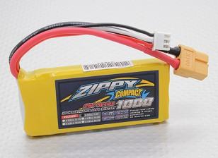 ZIPPY紧凑型1000mAh的2S 25C前列包