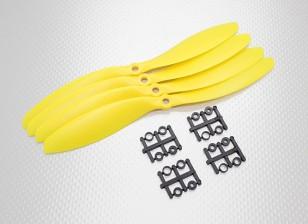 Hobbyking™螺旋桨9x4.7黄色(CW)(4件)