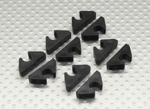 空气管路/燃油管/为外径6mm排线整齐夹(10PC)