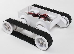 路虎5履带式机器人底盘