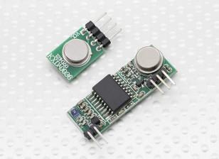 超外差3310无线接收模块和433RF无线发射模块