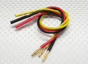 2.0毫米男/女子弹无刷电机扩展导线200毫米