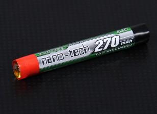 Turnigy纳米技术270mah 1S 15C圆形细胞