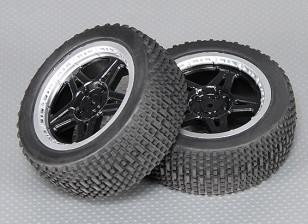 后轮胎套装 -  A2033(2个)