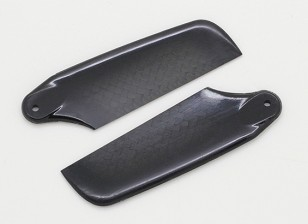 62毫米高品质碳纤维叶片尾