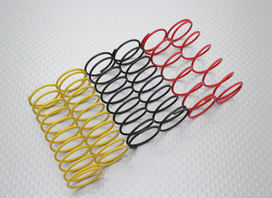 前避震弹簧黑色/黄色/红色(2只每种颜色) -  A2038及A3015