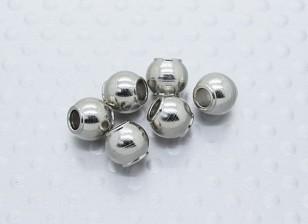 球头(6.8毫米) - 硝基马戏团锤1/8比例怪物卡车,SABERTOOTH Truggy(6件)