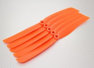 GWS式螺旋桨8,8橙色(CCW)(5片装)