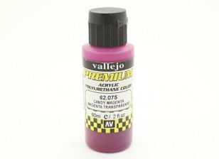 瓦列霍高级彩色亚克力漆 - 糖果品红色(60ml)中