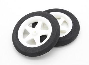 光发泡轮5辐(直径:65毫米,宽10毫米)(2PC)
