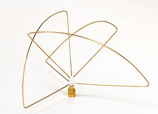 圆极化900MHz的发射机天线(RP-SMA)(LHCP)(短)