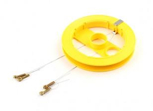 Sulllivan产品不锈钢7钢绞线控制线线0.008,2×26英尺