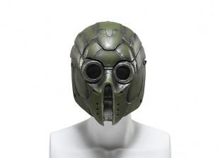 FMA丝网全脸面膜(绿色怪物)