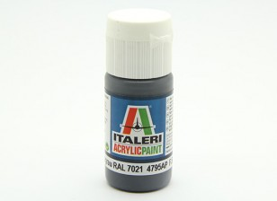 Italeri丙烯酸涂料 - 平Pz的Schwarzgrau RAL 7021