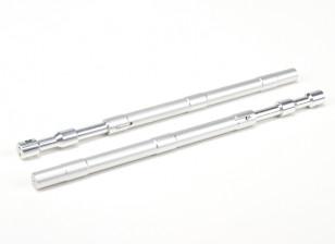 合金直奥莱奥Struts的230毫米〜12.7毫米(2个)