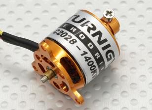 C2028微型无刷外转子1400kv(22克)