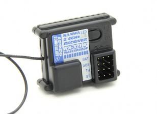 三和/ Airtronics RX-371W 2.4GHz的FH-2 3CH防水接收机