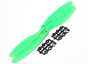 Turnigy Slowfly螺旋桨10x4.5绿色(CW)(2个)