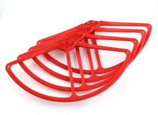 DJI幻影视觉2螺旋桨保护套装(红色)