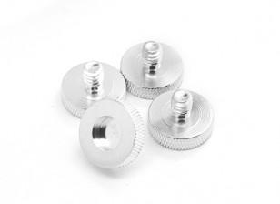 1/4英寸铝合金摄像机安装螺丝D19(4件/套)