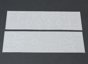美国空军不干胶贴纸套装
