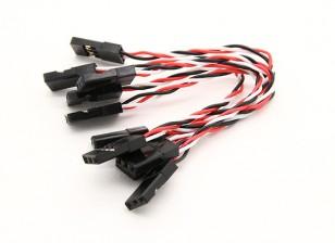 超级Flex的26AWG硅胶伺服信息的最小振动传递到FC(JR)80毫米5片/袋