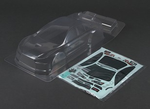 骑ML-EVO X用于225毫米轴距M-机箱 - 透明