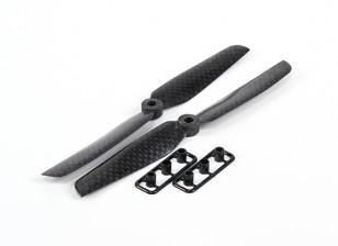 多转子碳纤维螺旋桨6X3黑色(CW / CCW)(2个)