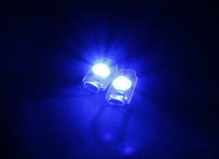 Turnigy超亮2×蓝色添加在LED灯组