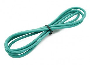 Turnigy高品质16AWG硅胶线1M线(由绿)