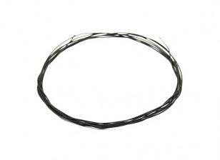 Turnigy高品质36AWG铁氟龙涂丝1M线(由黑色)