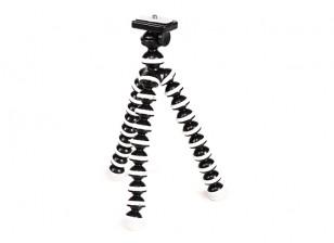 """灵活的迷你泡泡三脚架对于高清摄像机采用1/4""""-20螺纹和快速安装版"""