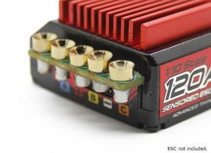 TrackStar容易安装ESC连接器(5对/套)