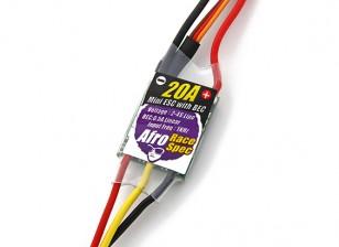 非洲种族规格迷你20AMP多转子转速控制器BEC