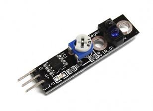 凯斯智能车载追踪黑/白寻线传感器的Arduino