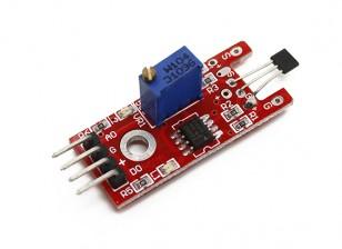 凯斯线性霍尔磁传感器的Arduino