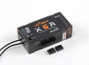 睿思凯X6R 6 / 16CH S.BUS ACCST遥测接收器W /智能港(2015欧版)