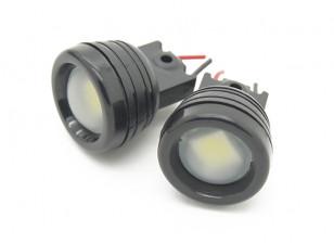 科尔亚军250  - 白光LED灯(2支/袋)