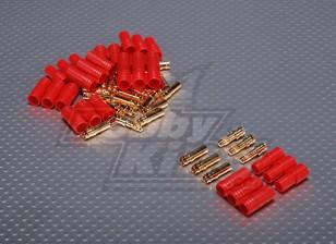 3.5毫米3线子弹连接器电机(5双/袋)