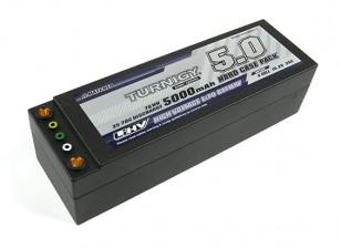 Turnigy LiHV 5000mAh的15.2V 4S 35C HARDCASE包