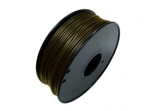 HobbyKing 3D打印机长丝1.75毫米金属复合0.5KG阀芯(铜奖)