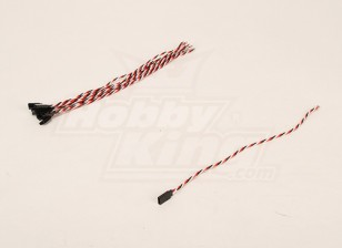 30厘米女22AWG双绞线(10片/袋)