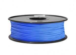 HobbyKing 3D打印机长丝1.75毫米ABS 1KG阀芯(蓝P.286C)