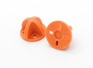 的Diatone起落架9毫米/12毫米(橙色)(2个)