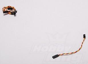 扭曲的15厘米伺服铅延伸(JR)22AWG(5件/套)