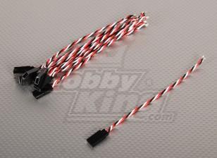 15厘米女22AWG双绞线(10片/袋)