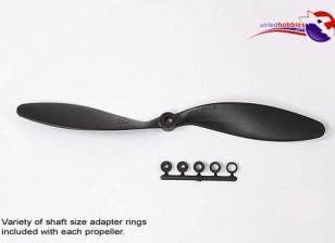 GWS风格Slowfly螺旋桨13x8黑色(CCW)(1个)
