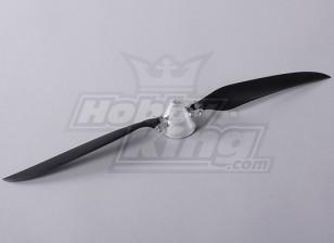 折叠式螺旋桨W /铝合金花鼓45毫米/4毫米轴14x8(1个)