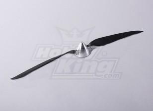 折叠式螺旋桨W /铝合金花鼓50毫米/5毫米轴17x10(1个)
