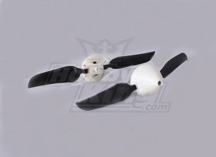 折叠式螺旋桨W /集线器18毫米/2毫米轴4.5x3(2个)